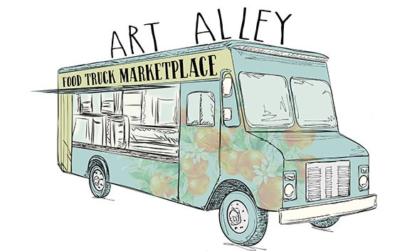 Food Truck Marketplace will take place weekly at Art Alley in downtown Haines City.