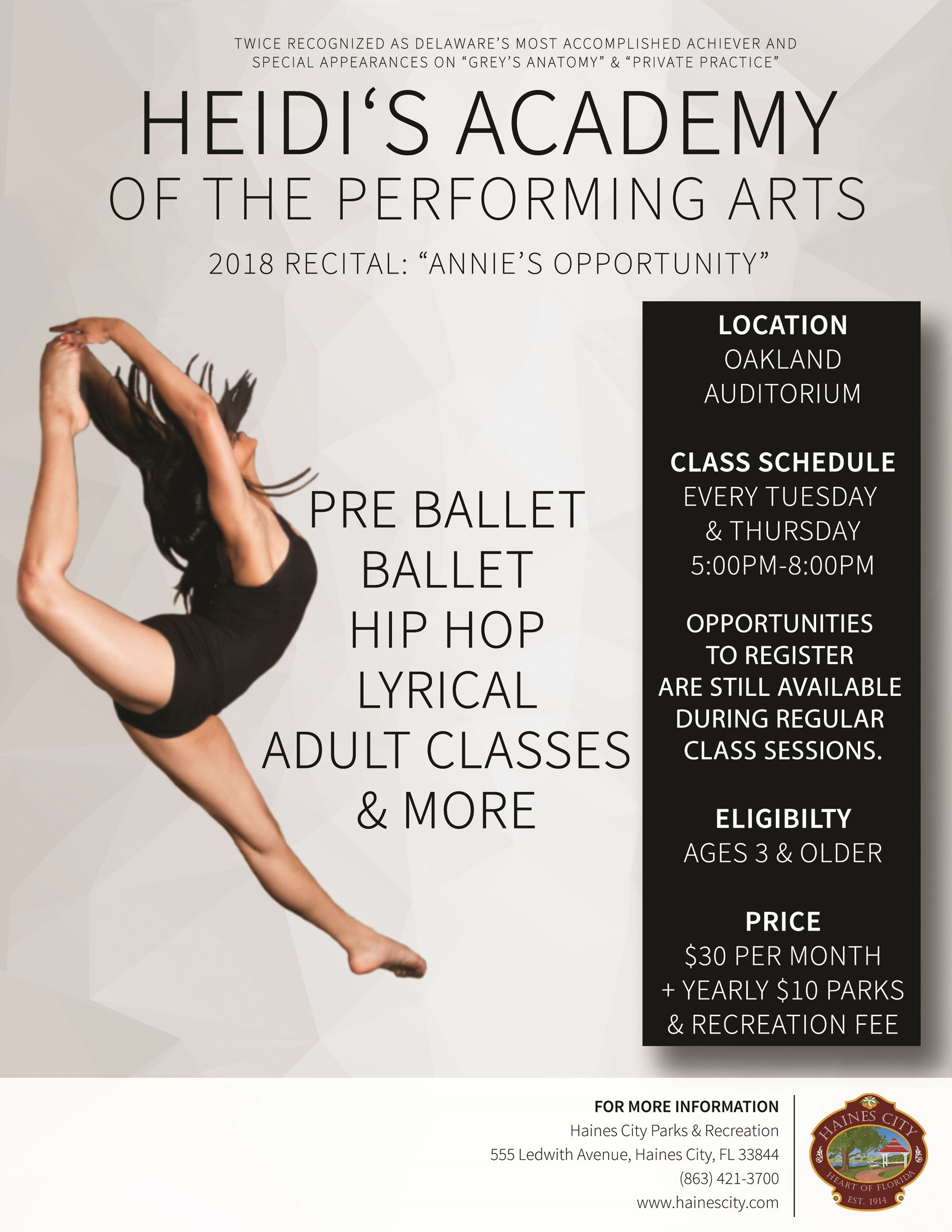 Heidi's Academy of the Performing Arts (PDF IMAGE)